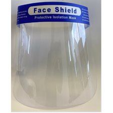 Disposable face shield protection visor (50x38x21cm)