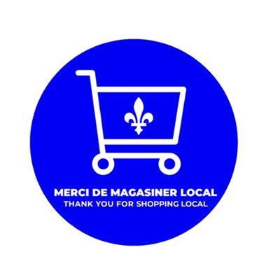 floor stickers-thank you shop Quebec