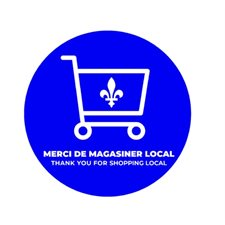 floor stickers-thank you shop Quebec